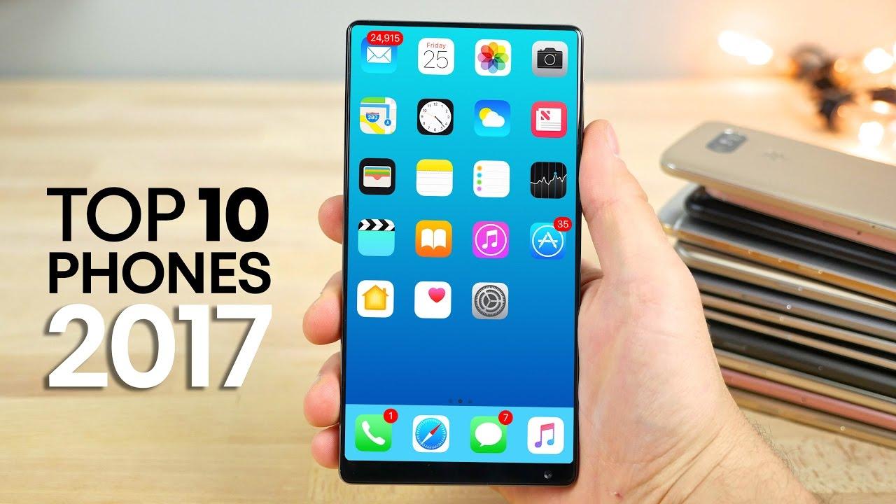 Top 10 Phones of 2017
